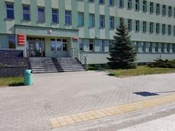 Remont chodnika przy budynku Starostwa Powiatowego w Suwałkach zakończony.