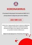 Kontakt w sprawach dotyczących koronawirusa SARS-CoV-2 - informacja Państwowej Inspekcji Sanitarnej