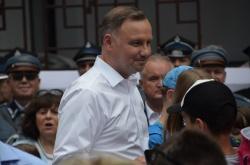 Wizyta Prezydenta RP Andrzeja Dudy w Suwałkach