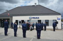 Otwarcie Posterunku Policji w Słobódce
