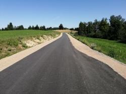 Zakończono przebudowę kolejnej drogi powiatowej