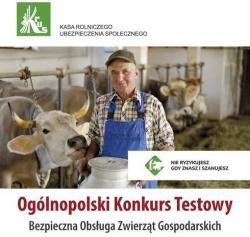 Ogólnopolski konkurs wiedzy na temat bezpieczeństwa pracy w gospodarstwie rolnym