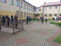 Uroczystości inauguracyjne nowego roku szkolnego w Zespole Szkół w Dowspudzie