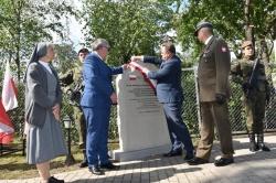 Odsłonięcie obelisku poświęconego 100. rocznicy utworzenia Armii Ochotniczej