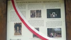 Odsłonięcie tablicy informacyjnej w Prudziszkach