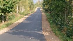 Dobiegły prace przy remoncie kolejnej drogi powiatowej