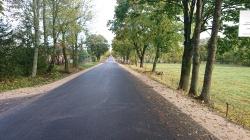 Zakończono prace przy przebudowie drogi powiatowej nr 1127B Wiżajny – Smolniki - Sidory