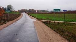 Kolejna droga powiatowa przebudowana