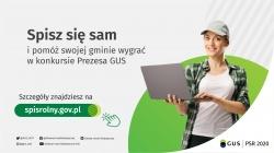 Powszechny Spis Rolny - konkurs na gminę o najwyższym odsetku spisanych gospodarstw rolnych