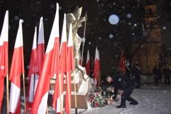 Obchody 39. rocznicy wprowadzenia stanu wojennego w Polsce