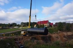 Ukończono budowę biologicznej oczyszczalni ścieków w Zakładzie Aktywności Zawodowej SOWA w Lipniaku