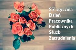 27 stycznia Dzień Pracownika Publicznych Służb Zatrudnienia