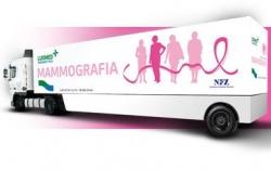 Bezpłatna mammografia w mobilnej pracowni mammograficznej LUX MED - Suwałki 25 i 26 maja 2021 r.