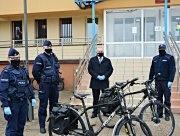 Suwalska Policja otrzymała dwa nowoczesne rowery