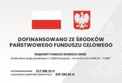Podpisanie umowy na przebudowę drogi powiatowej nr1185B Dowspuda – Kurianki