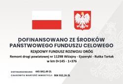 Podpisanie umowy na remont drogi powiatowej nr 1129B Wiżajny - Ejszeryszki - Rutka Tartak