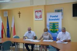 Podpisanie umowy z Samodzielnym Publicznym Zakładem Opieki Zdrowotnej Ośrodek Rehabilitacji w Suwałkach
