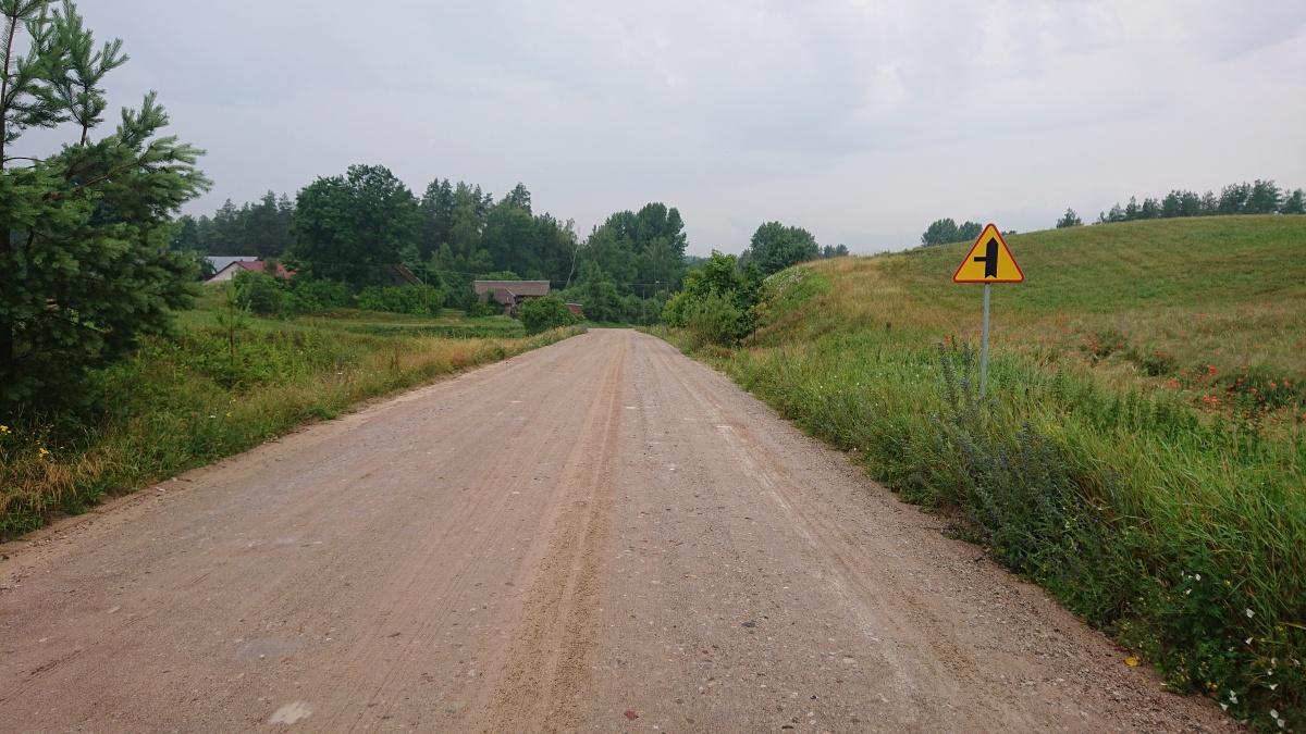 Przebudowa drogi nr 1157B Krasnopol - Gremzdel - Jegliniec – Wiatrołuża - Kliknięcie spowoduje wyświetlenie powiększenia zdjęcia