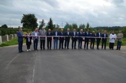 Otwarcie ostatniego wyremontowanego odcinka drogi powiatowej nr 1127B Wiżajny - Smolniki – Sidory