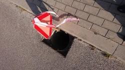 Kradzieże pokryw ulicznych studzienek ściekowych