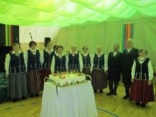 Uroczystość jubileuszowa 20-lecia działalności Zespołu Śpiewaczego ZNAROKU z Przerośli