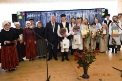 """35-lecie Zespołu Śpiewaczego """"Jezioranki"""" i 5-lecie Zespołu Pieśni Ludowej """"Szuwarki"""" z Wiżajn"""